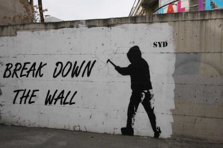 SYD questions Cyprus' barriers with street art - http://streetiam.com/syd-questions-cyprus-barriers-with-street-art/
