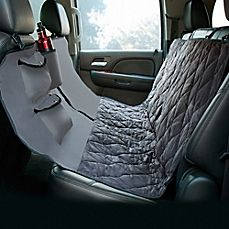 image of Hammock Style Deluxe Quilted Micro Suede Car Seat Protector