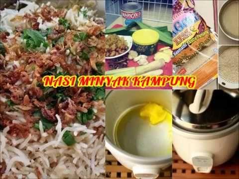 Resepi Cara Buat Nasi Minyak Kampung Paling Sedap Tapi Best...