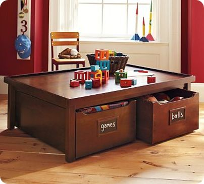 Amazing Pottery Barn Kids Activity Table #diy #furniture