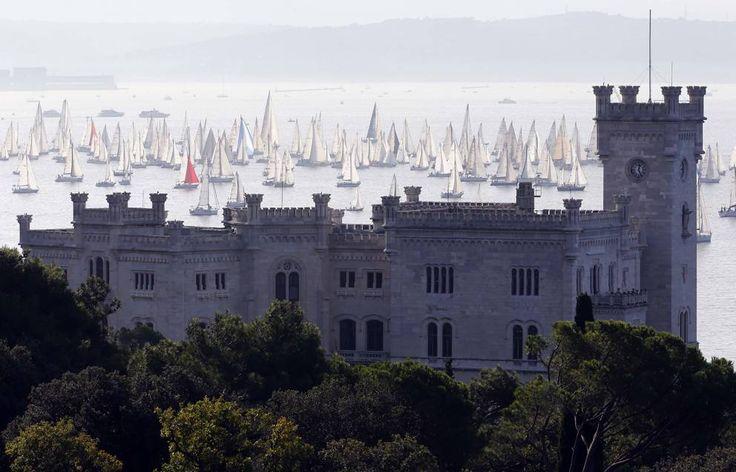 Trieste, quasi 1900 barche alla «Barcolana» - Corriere.it