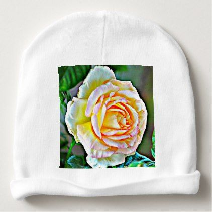 Beauty Rose Baby Girl Beanie - girl gifts special unique diy gift idea