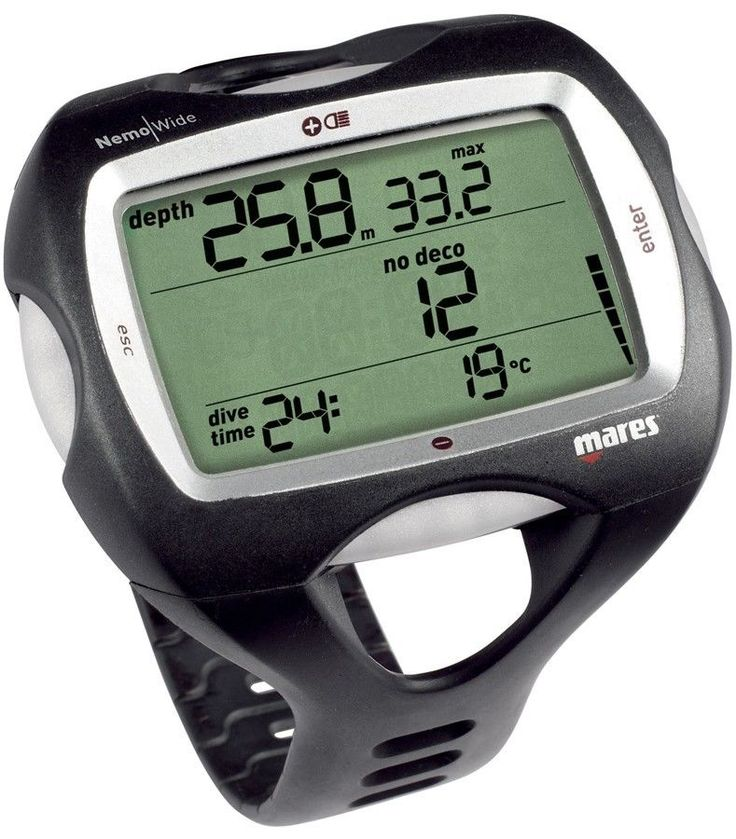 Dive Computers 50882: Mares Nemo Wide 3 Gas Scuba Diving Tech Wrist Dive Computer -> BUY IT NOW ONLY: $239.98 on eBay!