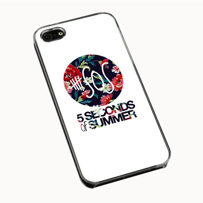 5 Second of Summer Floral IPhone 4  4S 5 5S 5C Cases