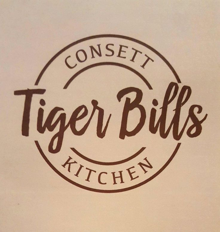 Tiger Bills has a new logo. And soon will have a newly designed interior to match the new menu. Based in Consett in Co Durham.