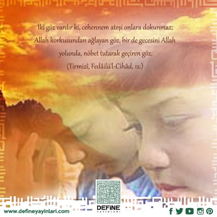 Haftanın hadisi… #define #defineyayinlari #hadis #islam #iman #hakikat
