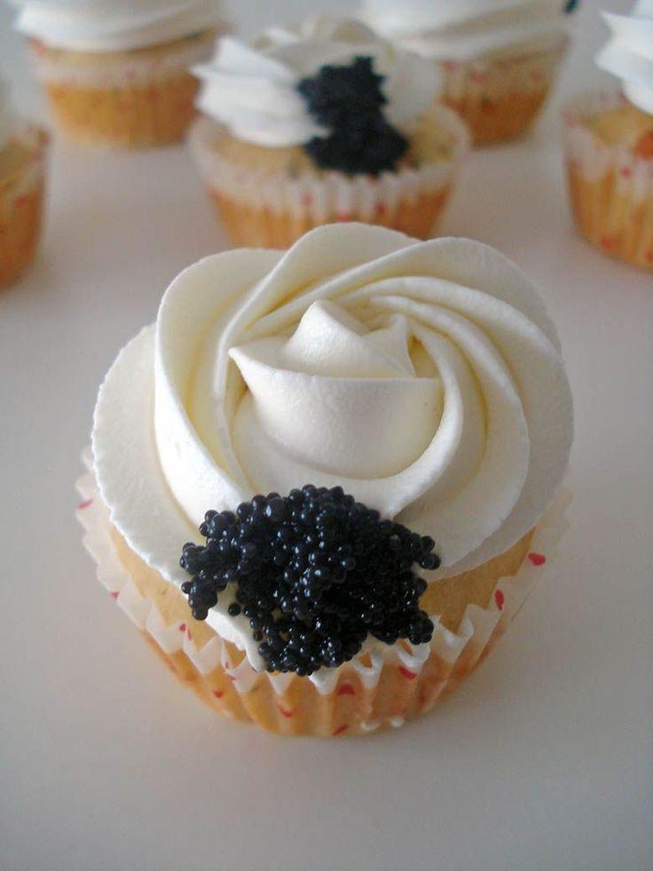 Cupcakes salados (Receta cupcakes de salmón )
