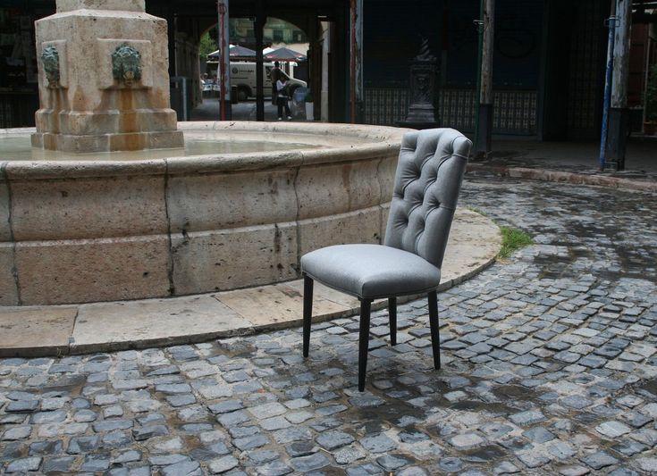 Silla marta capiton en mbar muebles for Sillas capitone modernas