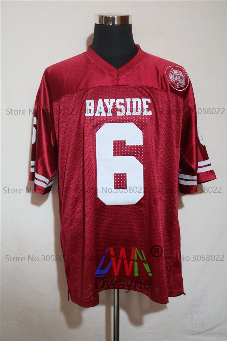 Saved By The Bell AC Slater Bayside High School Football Jersey