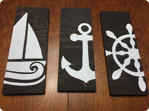 nautical steciled bathroom - Yahoo Image Search Results