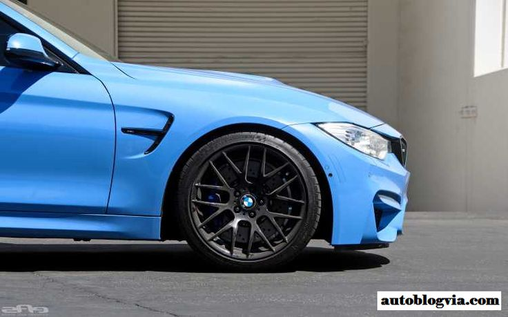 Yas Marina Blue Bmw M4 On Matte Black Gts Wheels Http