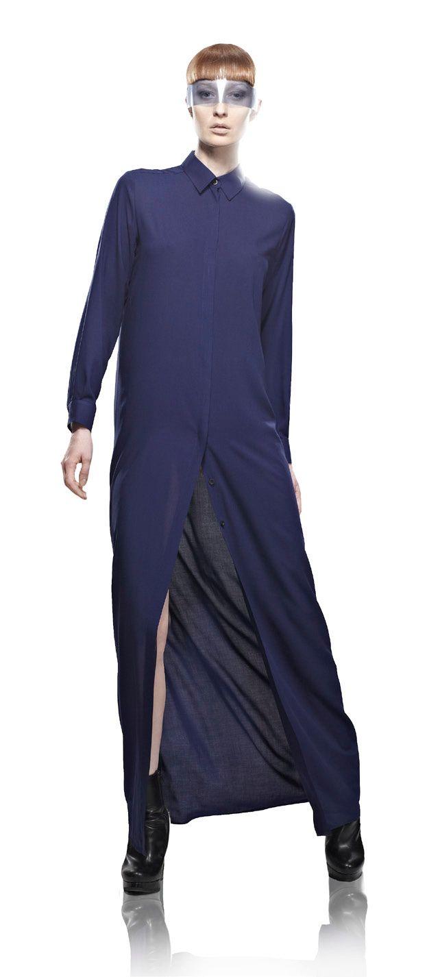 Классика VASSA. Платье  VASSA Liquid Sky Collection SS 2013 photo by Stefan Ungaru  Васса - ведущий российский дизайнер сегмента pret-a-porter  #fashion