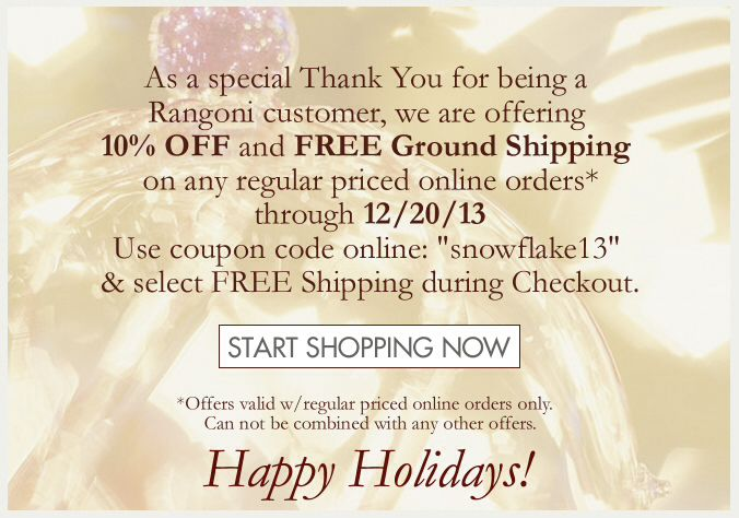 A Special Holidays promotion!