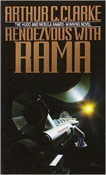 Rendezvous with Rama by Arthur C. Clarke. Provo City Library staff pick.
