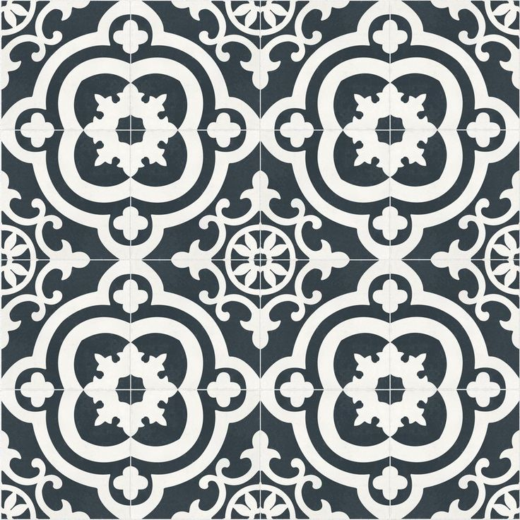 A Bold Patterned Tile On Floors Or Walls Is The Jaw Dropping Detail Your  Home