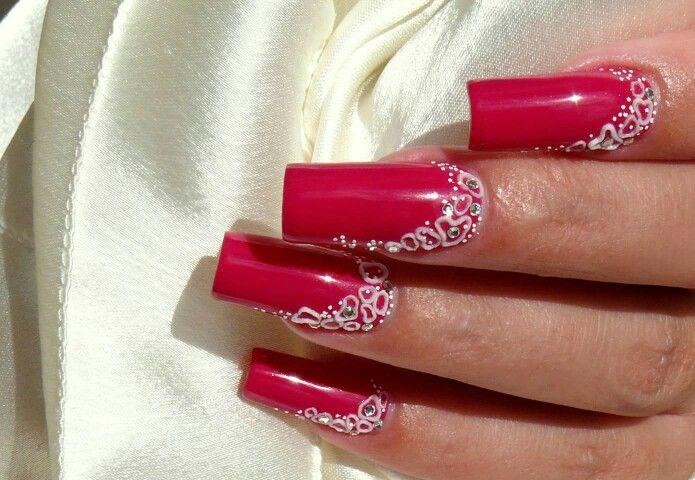 Gel nails gel polish