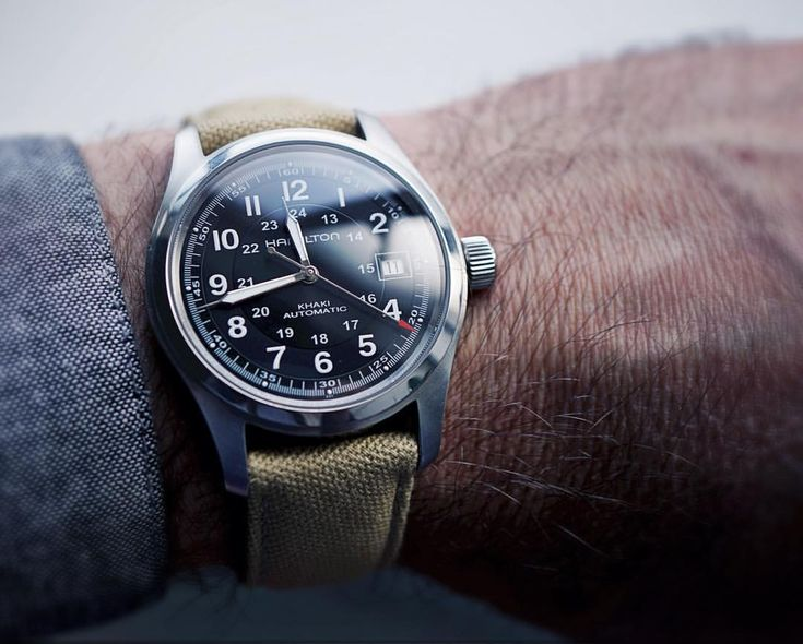 Hamilton Khaki Field 38mm  See this Instagram photo by @selenelion • 488 likes