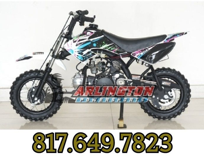 Rps Xmoto 70cc Dirt Bike Automatic With Electric And Kick Start