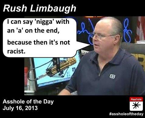 Limbaugh beck assholes