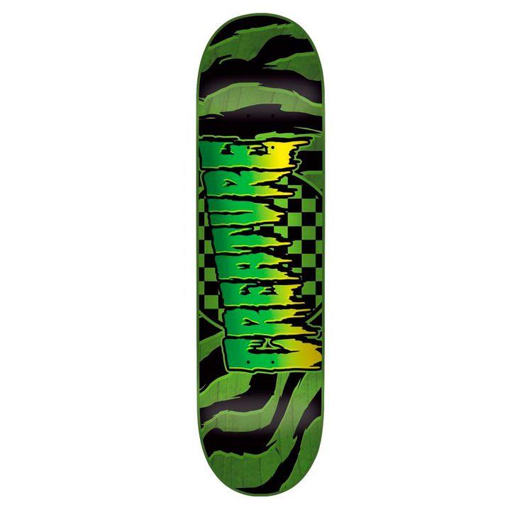 Creature Go Home skateboard deck -skeittikauppa.com
