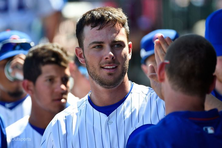 Kris Bryant of the Chicago Cubs