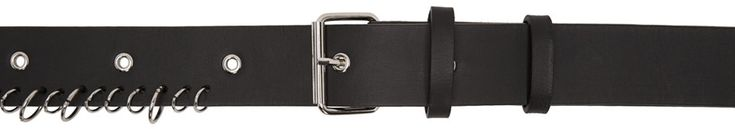 Damir Doma - Black Aleah Belt