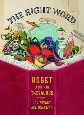 Beloved author illustrator duo Jen Bryant and Melissa Sweet have a new book! The Right Word tells the story of Peter Roget, creator of the thesaurus.  This book celebrates lists, words, and the acts of collecting, sorting, writing, and sharing.  A great book for getting kids excited about vocabulary!
