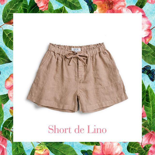 Short de lino. Perfecto para el fin de semana... #savillerow #savillerowofficial #Woman #shorts #SS17