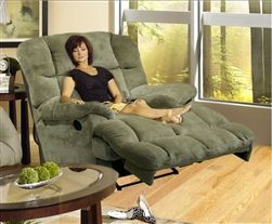Chairs fabrics and recliners on pinterest for Catnapper jackpot chaise recliner