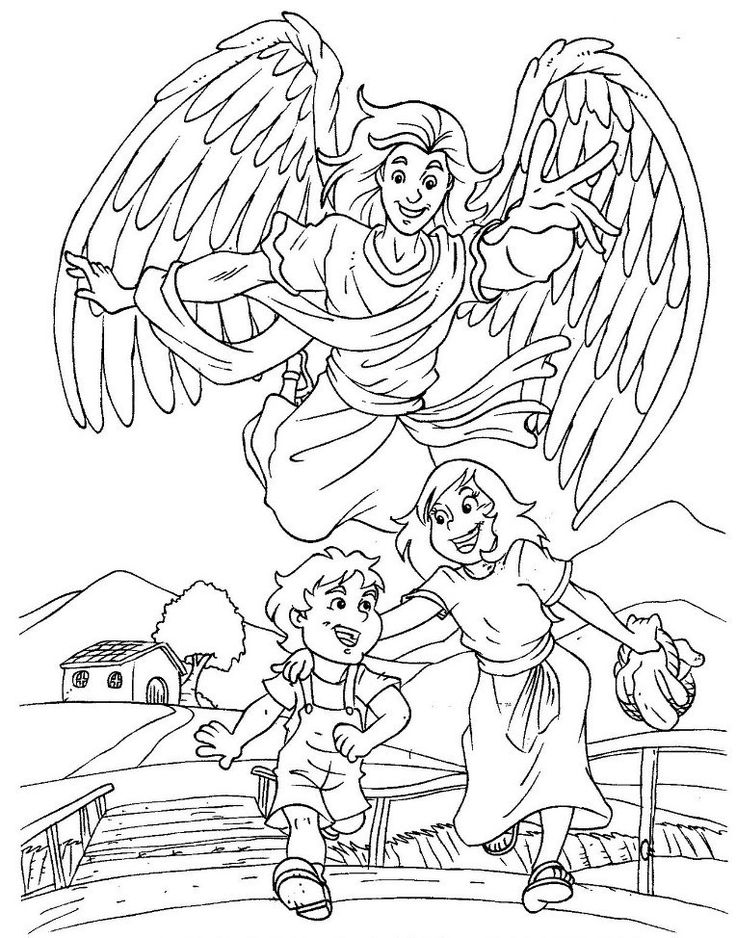 God 39 s protection coloring pages