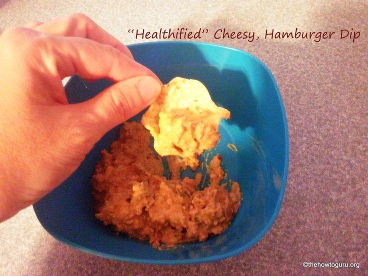 How to make Hamburger Cheese Dip Healthier