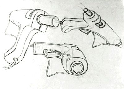 study of one object, different angles.