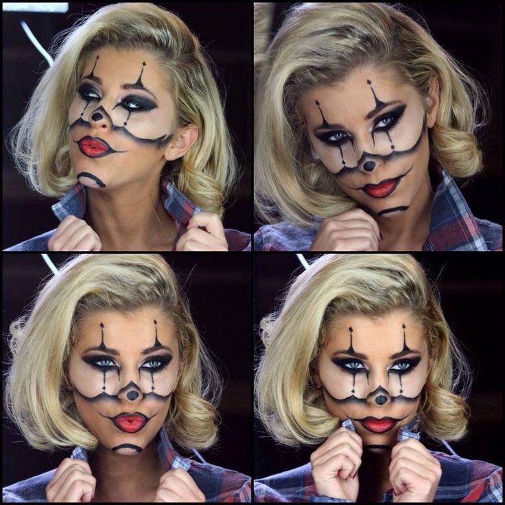 Best 25+ Gangsta Clown Makeup Ideas On Pinterest | Halloween Clown Halloween Skull Makeup And ...