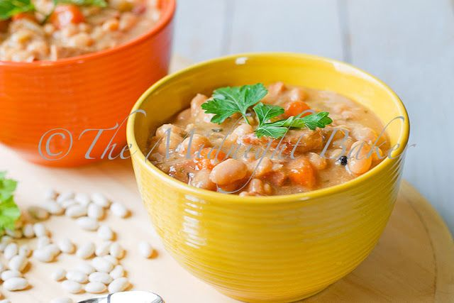 Northeast Hearty Bean Soup - The Midnight Baker