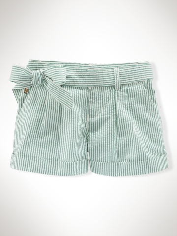 Leave it to Ralph Lauren to make searsucker shorts for 2 year olds!
