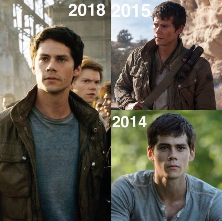I've loved seeing him grow throughout the maze runner Movies