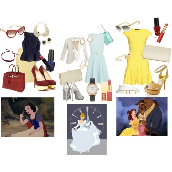 disney princesses inspired outfit