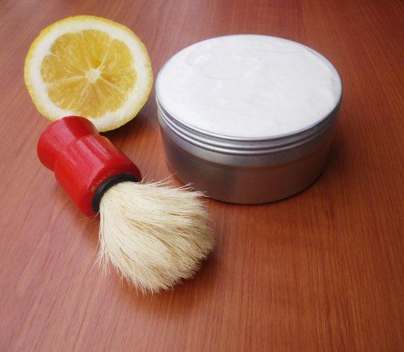 Check out this item in my Etsy shop https://www.etsy.com/listing/268137254/shaving-cream-soap-handmade-shaving