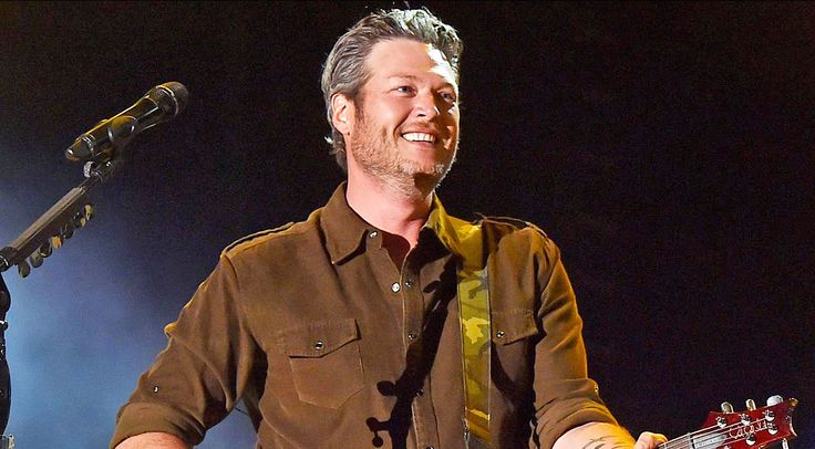 Blake was nominated for the Favorite Male Country Artist award...