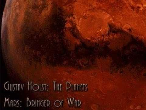 Gustav Holst's The Planets: Each movement of the suite is named after a planet of the Solar System and its corresponding astrological character as defined by the composer