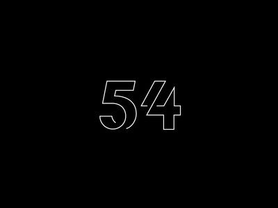 54 - Love these. Numbers by George Bokhua.