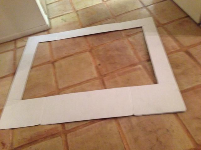how to make a holiday photo booth frame recipe. Black Bedroom Furniture Sets. Home Design Ideas