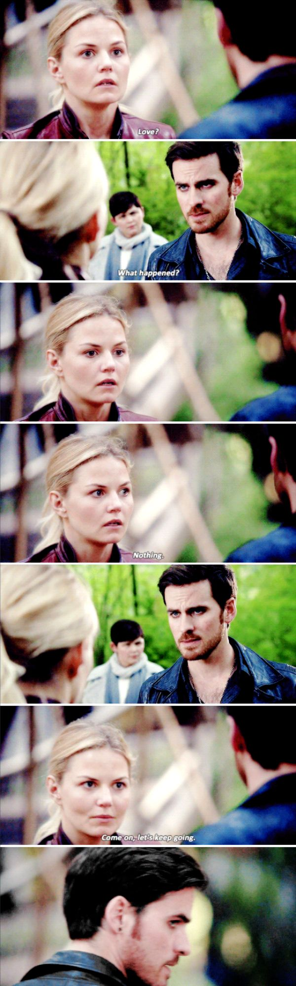"Emma Swan and Killian Jones - 6 * 1 ""The Saviour"" #CaptainSwan"