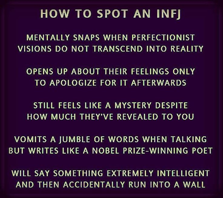 how to show an infj love