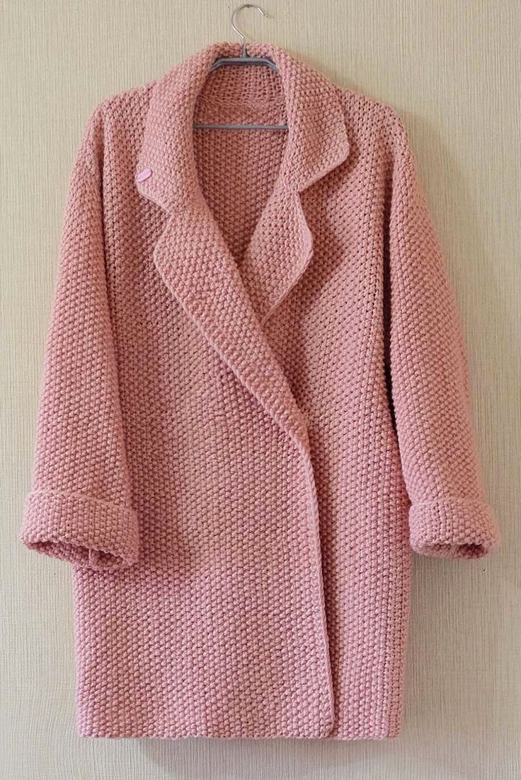 This is beautiful, I have a sudden urge to knit myself a coat.