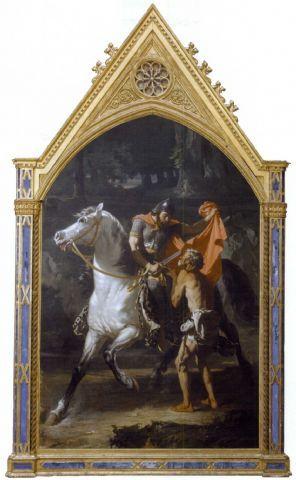 La carità di San Martino di Evariste-Vital Luminais