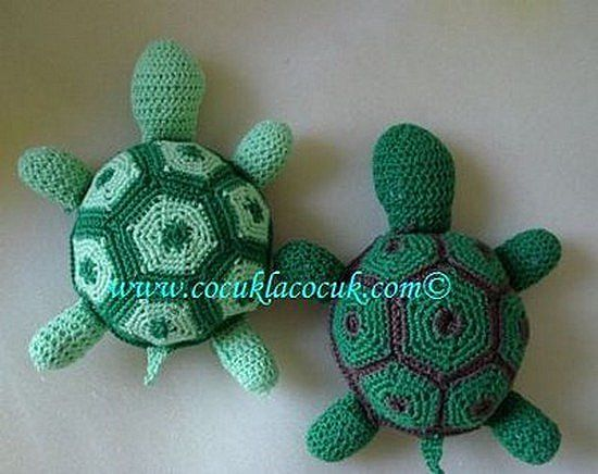 Tortues au crochet , pas à pas en images ! - Crochet Passion