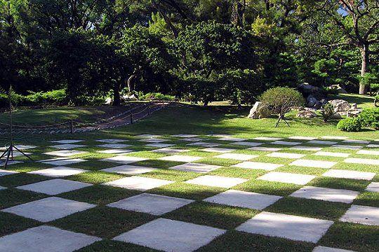 sten-i-græs Foreningen Japanske Haver