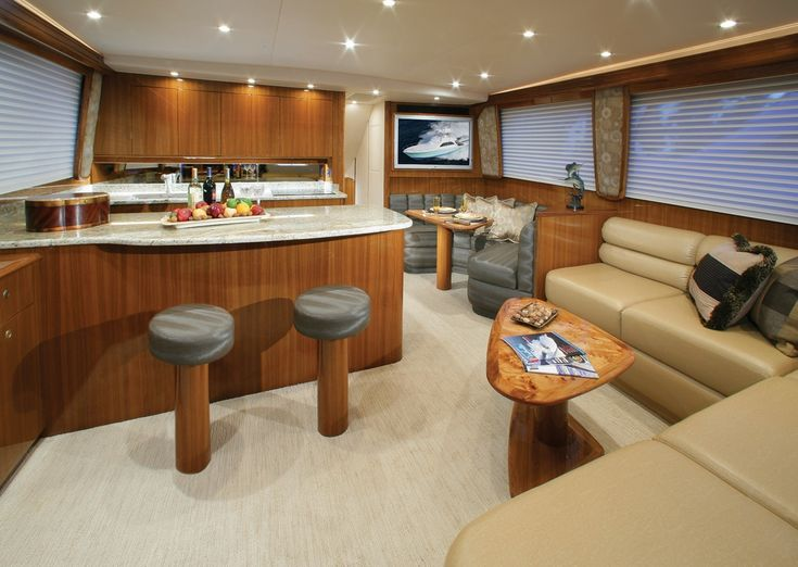 yacht interiors - Google Search | boat remodel | Yacht ...