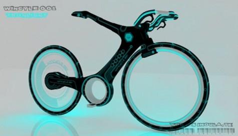 WinCycle001 Futuristic Bike Concept by Younes Jmoula aka Tron Bike